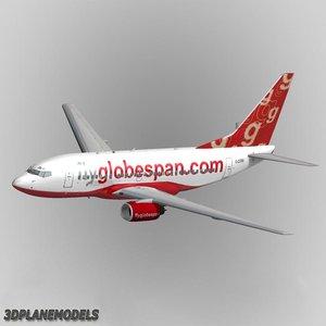 b737-600 flyglobespan max