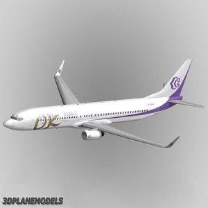 b737-900 okay airways 737 3d xsi