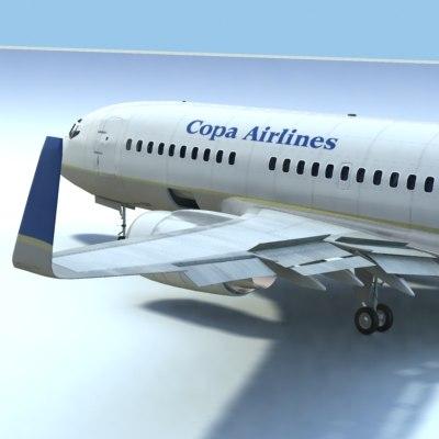 lwo 737-700 copa airlines