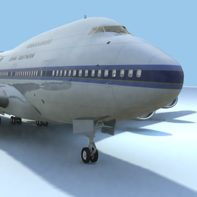 747-sp china southern 3d obj