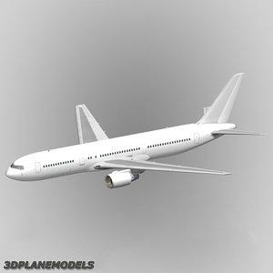 b767-300 generic white 767-300 xsi