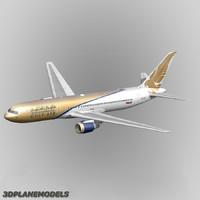b767-300 gulf air 767-300 3ds