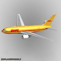 B767-200F DHL