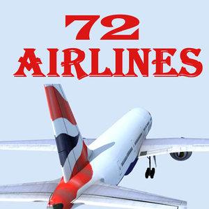 3d b 777 model