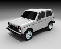 lada niva 3d model