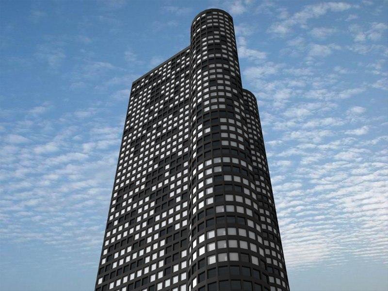 3d harbor point chicago model