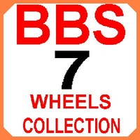 3d 7 bbs wheels model