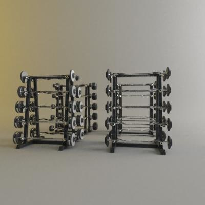 barbells 3d model