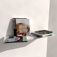 3d cookery book model