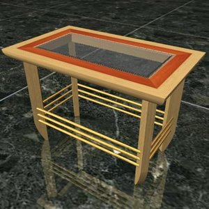 center table 3d max