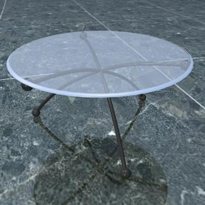 center table 3d model