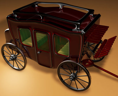 stage coach 3d 3ds