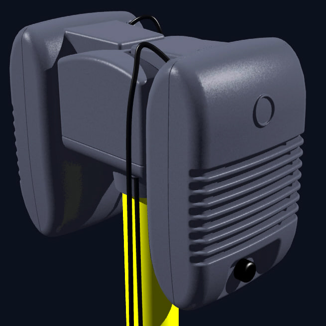 3d drive-in speakers