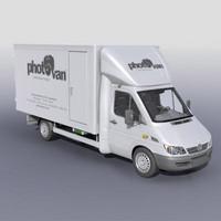 mobile photolaboratory 3d model