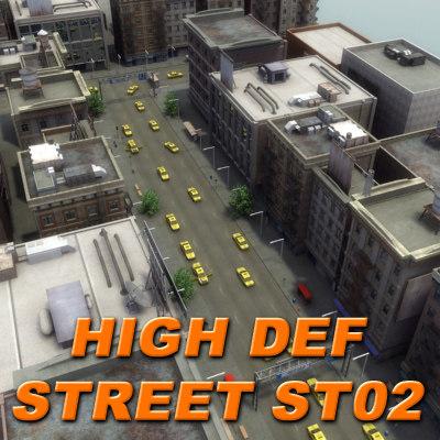 max city building hd street