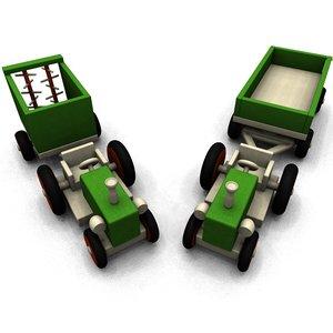 wooden toy 3d 3ds