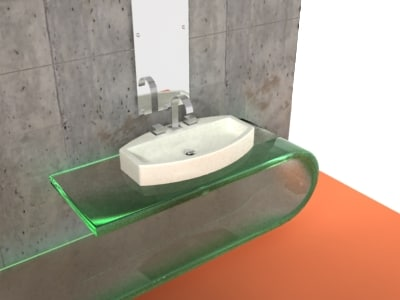 3d model losanga 7589 sink