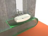 3d model losanga 7589 sink