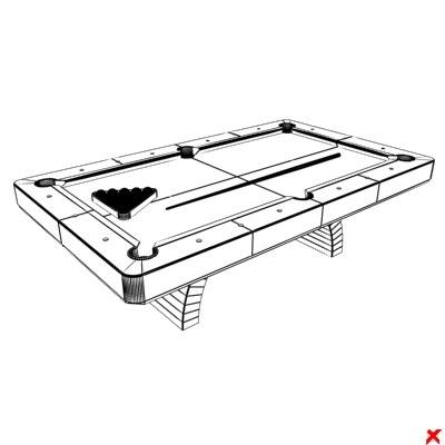Pool table006 ZIP