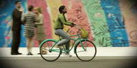MeAnBike0002-CS/ Woman Riding a Bike for 3DSMax 8