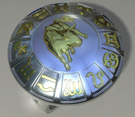 3ds max ring zodiac corpuscles