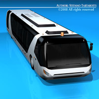 airfield bus c4d