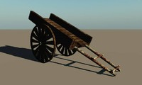 cart vue bailgadi 3d model