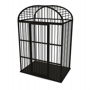 3ds max bird cage