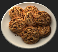 3ds max cookies plate