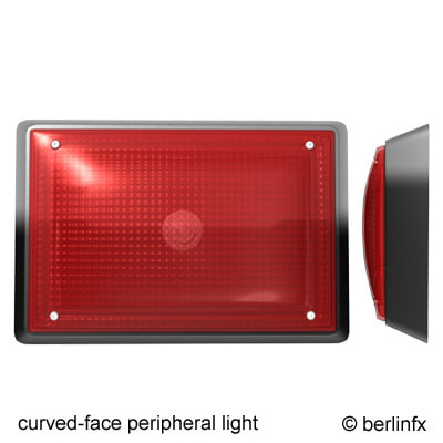 peripheral light 3d max
