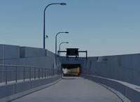 ボストン中央動脈/トンネル(ビッグディグ)アトランティックアベニューI-93 NBオンランプ