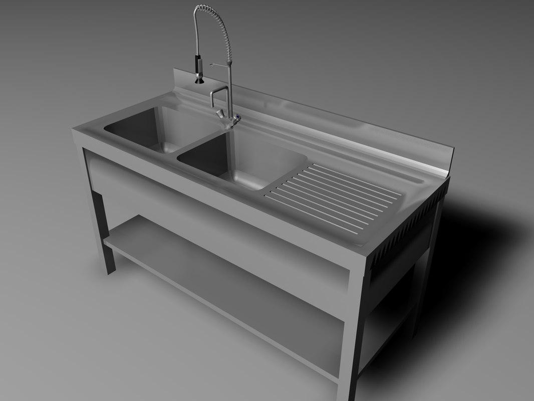 3d 3ds kitchen sink