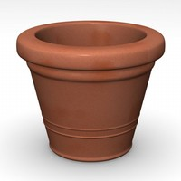 3ds flower pot