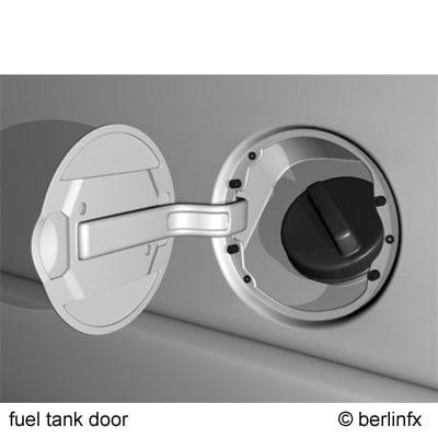 3d fuel tank door