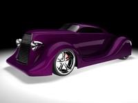 3d hotrod concept