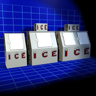ice machines 01 auto 3d max