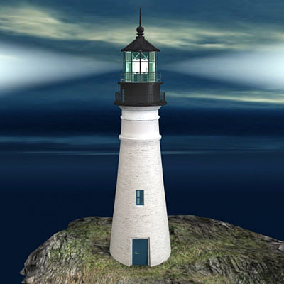 lighthouse light house 3d model