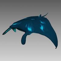 manta polygonal realtime 3d max