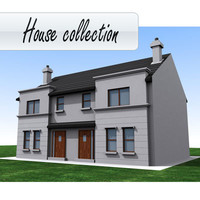 3d buildings houses