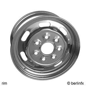 3d wheel rim model
