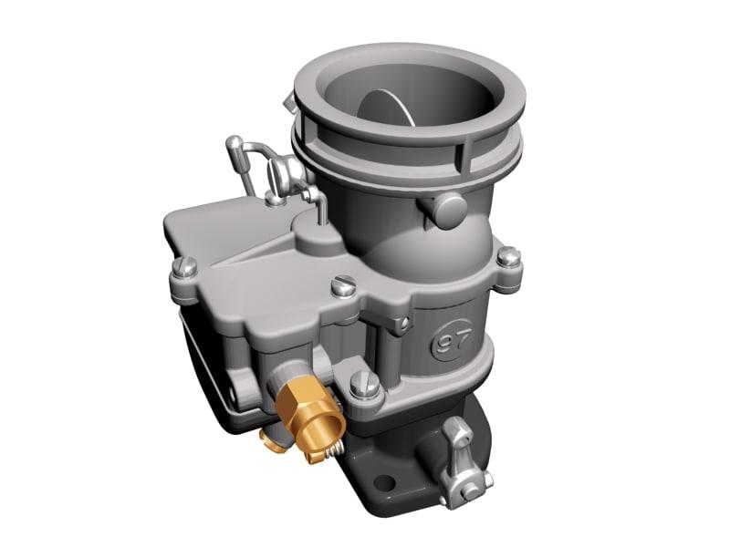 3d stromberg 97 carburetor model