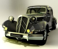 blend citroen traction