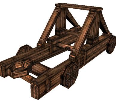 3d historical medieval cart