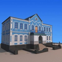 3d buildings houses home