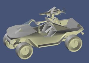 3d halo 1 vehicle model
