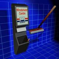 3d windshield centre 01 wiper