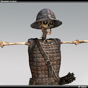 skeleton archer max