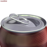 Aluminium can (extremely high detailed, animated)