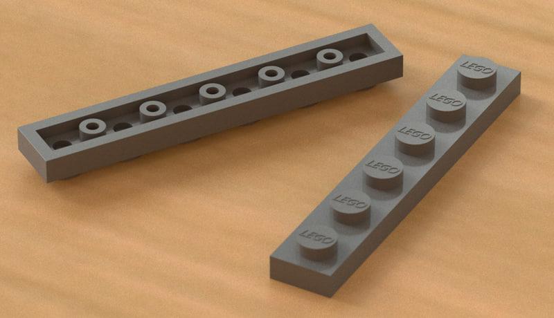3d lego led