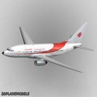 3d model b737-600 air algerie